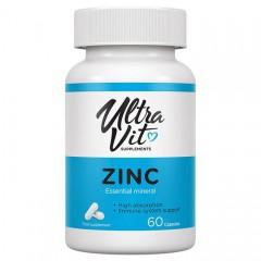 Цинк Ultra Vit Zinc - 60 капсул