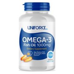 Uniforce Omega-3 1000 мг - 120 гелевых капсул