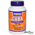 NOW GABA - 100 капсул (500mg)