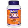 NOW GABA - 100 капсул (500mg)