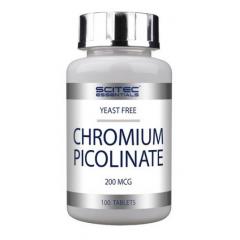 Пиколинат хрома Scitec Nutrition Chromium Picolinate 200 mcg - 100 таблеток