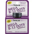 Twinlab Mega B-12 Dots  (5000 mcg) - 30 табл