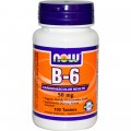 NOW B-6 (50mg) - 100 капсул