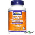 NOW Acetyl-L-Carnitine (500mg) - 100 капсул