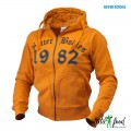 Better Bodies Женская толстовка N.Y Hoodie, Bright orange