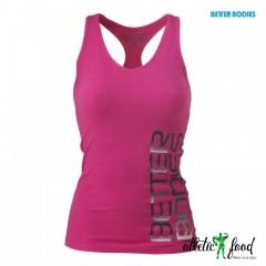 Better Bodies Спортивная майка Fitness Rib T-Back, Pink