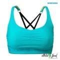 Better Bodies Спортивный топ Athlete Short Top, Aqua blue