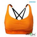 Better Bodies Спортивный топ Athlete Short Top, Bright Orange