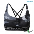 Better Bodies Спортивный топ Athlete Short Top, Grey camoprint