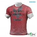 Better Bodies Футболка N.Y. Rough Tee, Jester Red