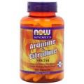 NOW Arginine & Citrulline - 120 капсул