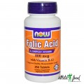 NOW Folic Acid - 250 таблеток