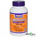NOW L-Methionine 500mg - 100 капсул