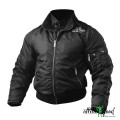 Better Bodies Уличная куртка Heavy Nylon Jacket, Black