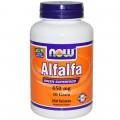 NOW Alfalfa 650 мг - 250 табл
