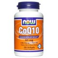 NOW Co Q10 with Omega-3 Fish Oil - 60 гел. капс.