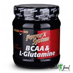 Power System BCAA L-Glutamine - 450 грамм