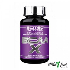 Scitec Nutrition BCAA- X - 120 капсул
