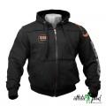 GASP Толстовка с капюшоном Gym Hood Jacket, Black