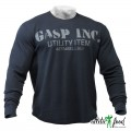 GASP Свитер Thermal Gym Sweater, Asphalt