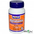 NOW Melatonin (3mg) - 60 капсул