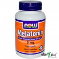 NOW Melatonin (3mg) - 180 капсул