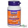 NOW 5-HTP (100mg) 90 - жевательных капсул