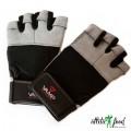 VAMP 530 GR - перчатки тряпичные (кожаная ладонь)