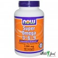 NOW Super Omega 3-6-9 (1200mg)  - 90 капсул