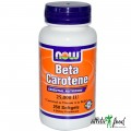 NOW Beta Carotene - 100 капсул