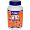 NOW GABA - 100 капсул (750mg)