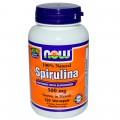 NOW  Спирулина - 120 капсул (500mg)