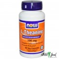 NOW L-Theanine (200 mg) - 60 капсул