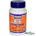 NOW Vitamin В-6 50 mg - 100 табл.