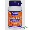 NOW Foods D-3 (Vitamin) 2000 Iu 240 Softgels