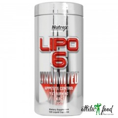 Nutrex Lipo 6 Unlimited - 120 капсул