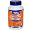 NOW Foods Cat's Claw Extract - 120 Vcaps (СРОК)