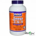 NOW Foods Omega 3-6-9 (1000mg) - 250 Softgels