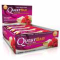 Quest Bar - 12 шт (White Chocolate Raspberry)