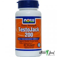 NOW TestoJack 200 - 60 капсул