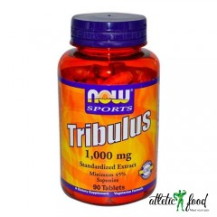 NOW Tribulus 1000mg - 90 табл.