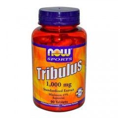 NOW Tribulus 1000mg - 90 табл.