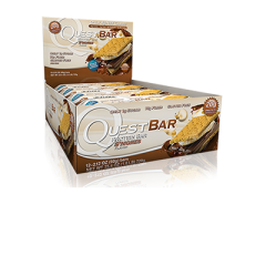 Quest Nutrition QuestBar - 12 шт (Smores-Зефир-Печенье)NEW!