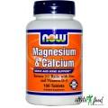 NOW Magnesium & Calcium 2:1 - 100 таблеток