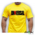Universal Nutrition - футболка Universal (желтая)