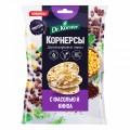 Dr.Korner Чипсы цельнозерновые кукурузно-рисовые с горошком, фасолью и киноа - 50 грамм
