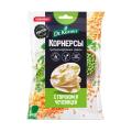 Dr.Korner Чипсы цельнозерновые рисовые с горошком и чечевицей - 50 грамм