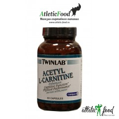 Twinlab Acetyl L-Carnitine - 60 капсул