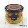 Ассорти: грецкий орех, миндаль, арахис в меду 255 гр.