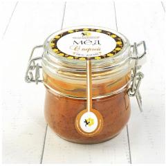 Крем-мёд с пергой с бугельным замком 250 гр.